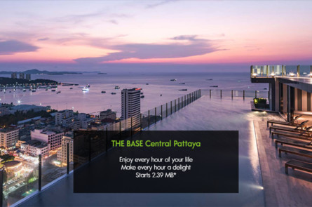 芭提雅·中海公寓The Base Central Pattaya