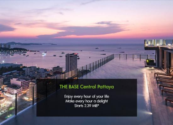 中海公寓The Base Central Pattaya
