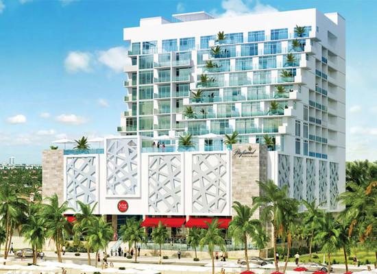 拉斯奥拉斯璞富腾酒店Las Olas Ocean Resort