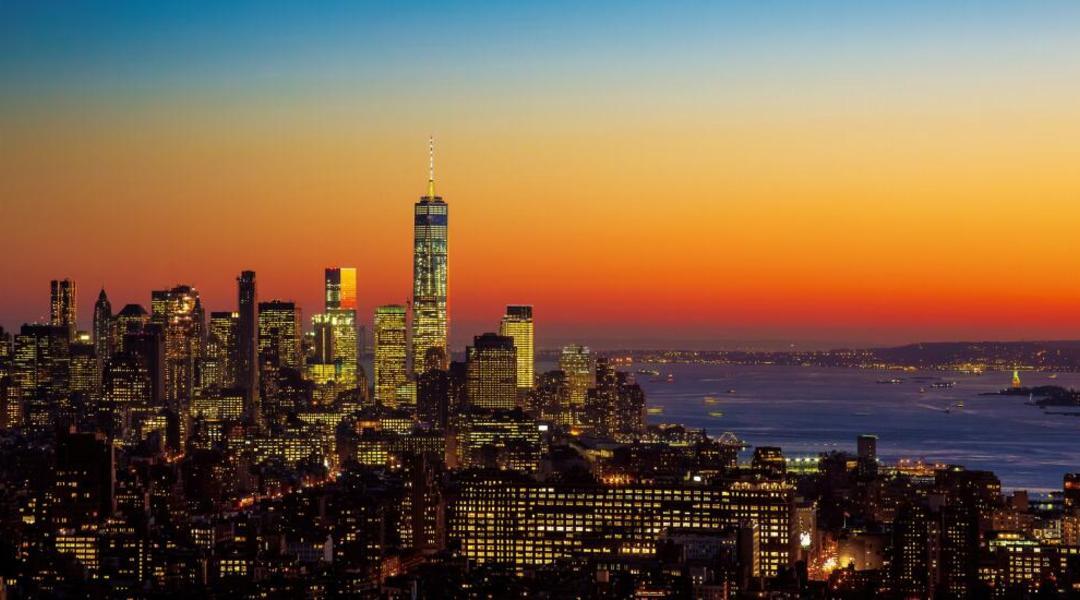 曼哈顿哈德逊河全景高端公寓